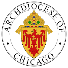 Chicago Archdiocese website that opens in a new page